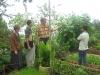 Interviewing an organic farmer-member of LaTop in Benguet
