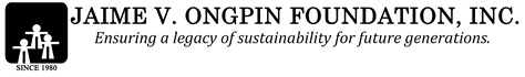 Jaime V. Ongpin Foundation, Inc. Logo